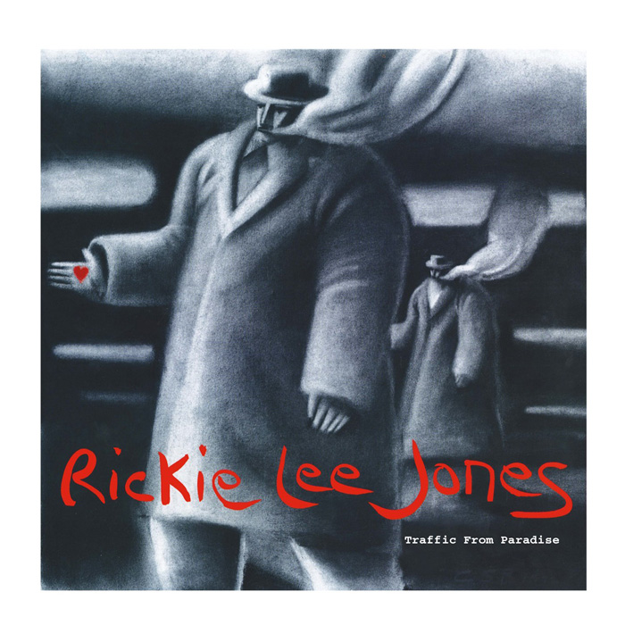 Rickie Lee Jones - Traffic from Paradise, album Cover